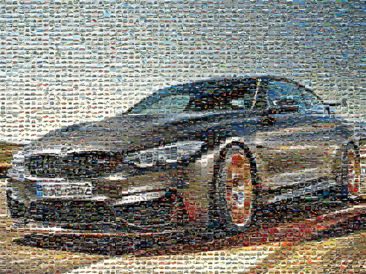 bmw mozaikkép