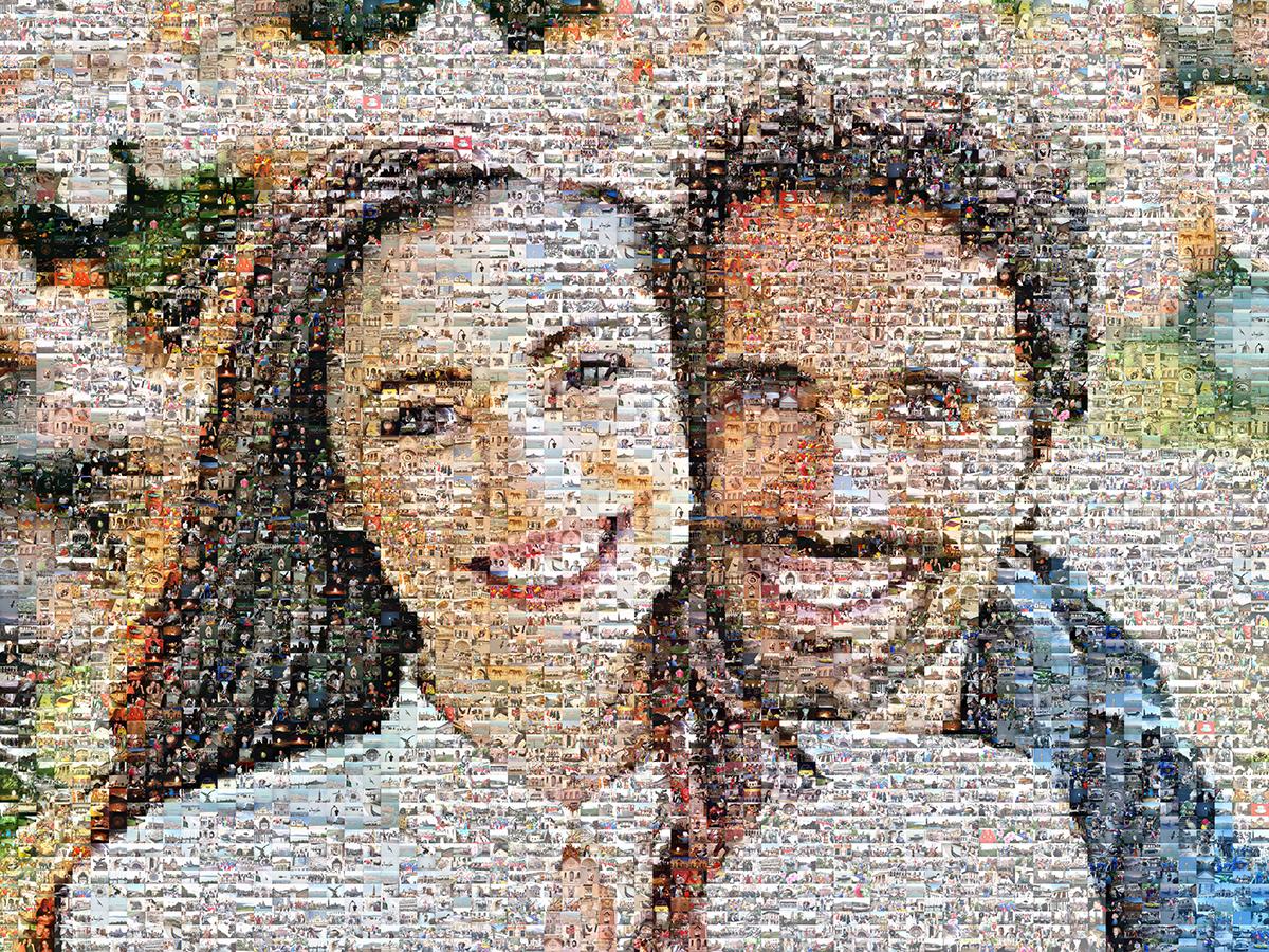 párocska mozaik